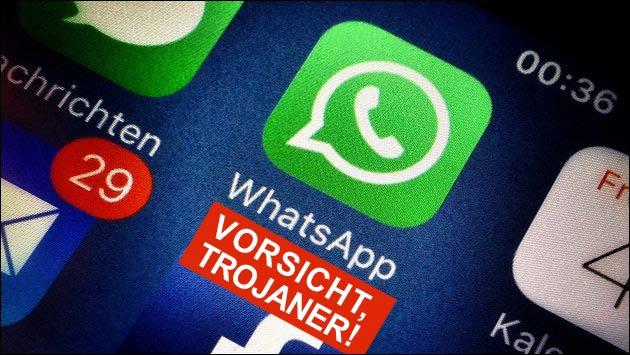 Angebliche WhatsApp Mail kommt mit Trojaner!