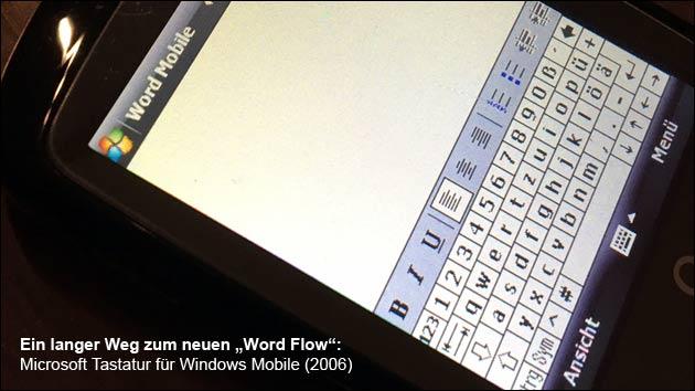 Schneller wischen statt tippen: Microsofts Tastatur-App Word Flow gibt's jetzt auch auf dem iPhone!