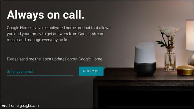 Google Home: Mehr als nur ein Lauutsprecher