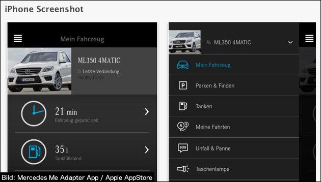 Mercedes: Fahrzeug finden leicht gemacht
