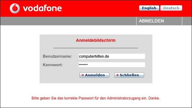 Vodafone Störung!