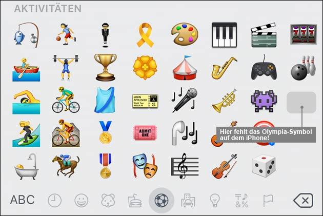 Olympia Emoji in WhatsApp