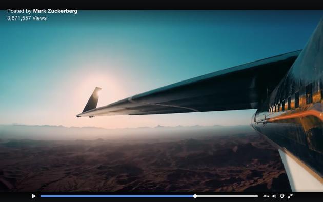 Video: Facebooks Solar-Drohne beim Jungfernflug