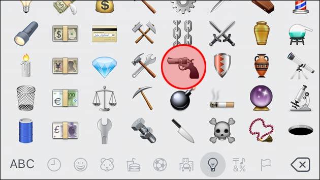 Apple ändert Emoji: Wasserpistole statt Pistole!