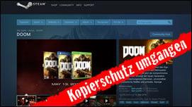 Doom + Tomb Raider kostenlos: Kopierschutz Denuvo umgangen