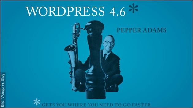 Wordpress 4.6 erschienen!