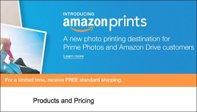 Amazon-Prints: Fotos von Amazon!
