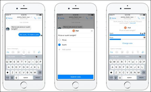 Facebook-Messenger kommt bald mit Umfrage-Tool!