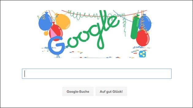 Google Geburtstag: Google wird 18!