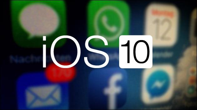 Ab morgen: iOS 10!