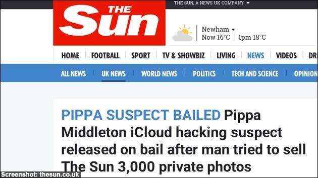 Pippa Middleton: iCloud gehackt?