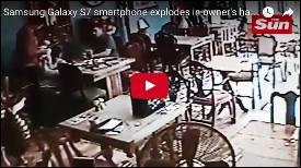Samsung Galaxy S7 explodiert