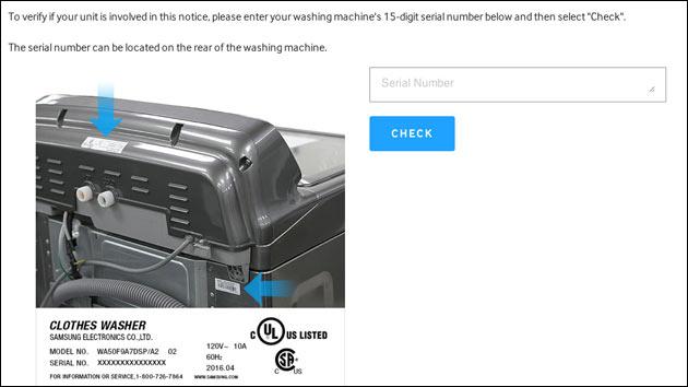 Samsung warnt vor eigenen Waschmaschinen!