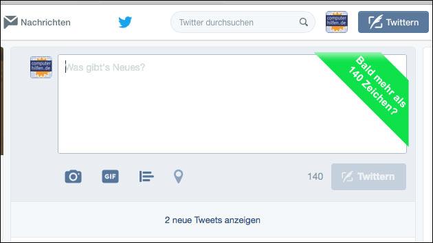 Twitter: Ende der 140 Zeichen Grenze?