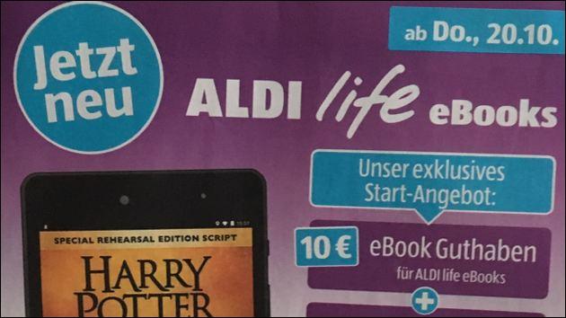 Aldi life eBook Dienst mit Medion Tablet E6912!