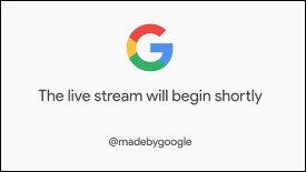 Google Pixel-Keynote im Llivestream