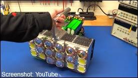 Selbstgebaute LED-Taschenlampe