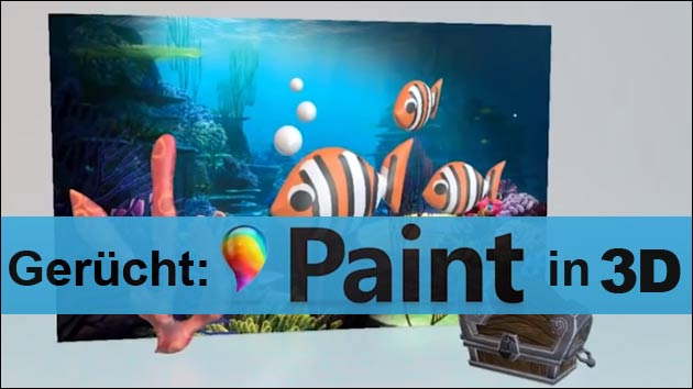 Neue Paint-App in 3D?