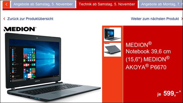 Medion Akoya P6670