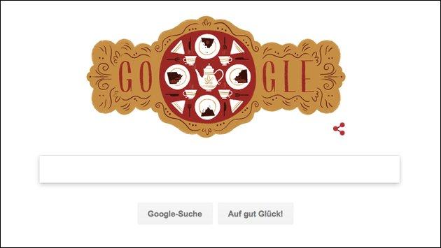 Google Doodle für Franz Sacher