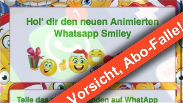 WhatsApp Abo-Falle: Nicht auf diese Webseite hereinfallen!
