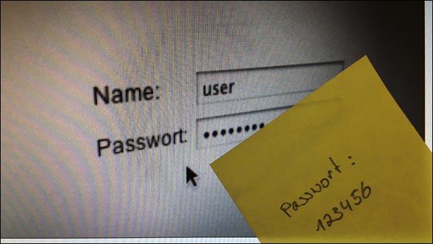Passwort: Nervig - aber wichtig!