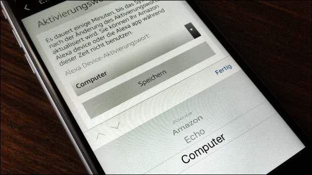 Amazon Echo: Neues Aktivierungswort 'Computer'!