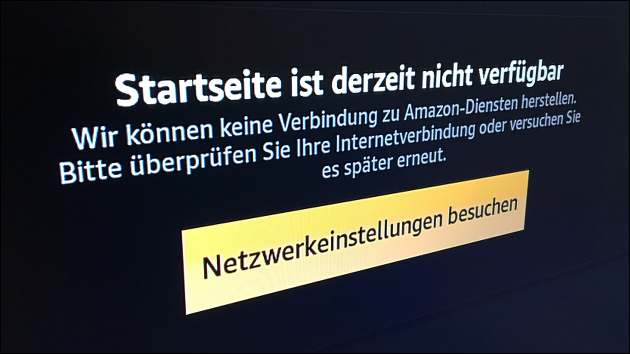 Amazon Fire TV Probleme!