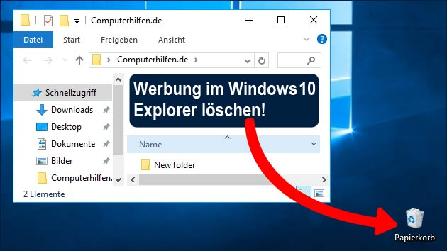Neue Windows 10 Werbung löschen: So geht's!