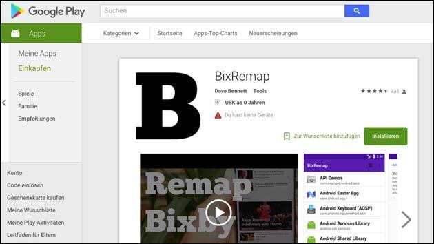 BixRemap optimiert Galaxy S8 Bixby-Button!