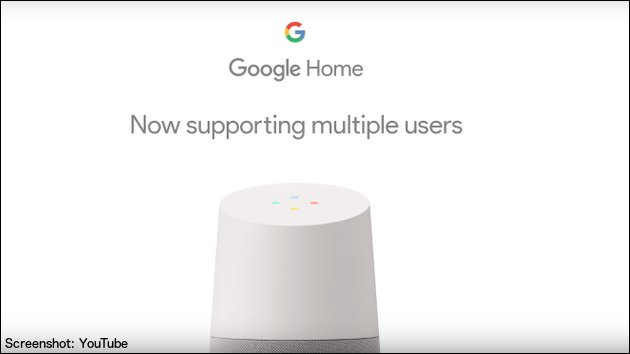 Google Home bringt Multi-User-Update