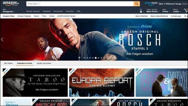 Amazon Channels startet bald in Deutschland