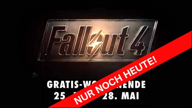 Fallout 4 Gratis-Wochenende