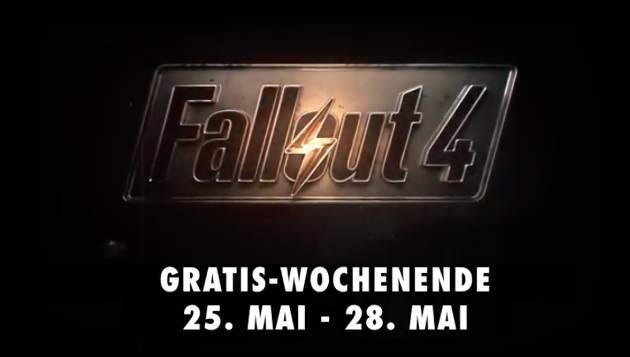 Fallout 4 gratis Wochenende