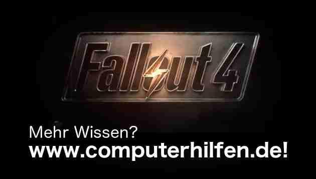 Fallout 4 - Am Wochenende kostenloses auf Steam und Xbox spielbar
