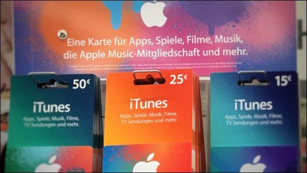 iTunes Karte Rabatt