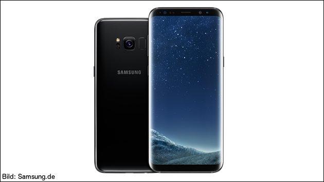Samsung Galaxy S8 im Test der Stiftung Warentest