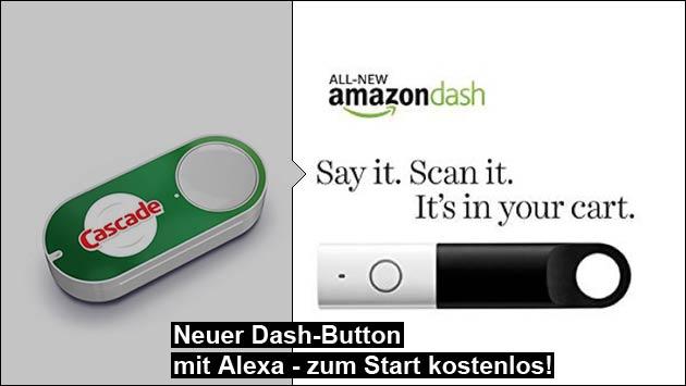 Amazon Dash jetzt mit Alexa