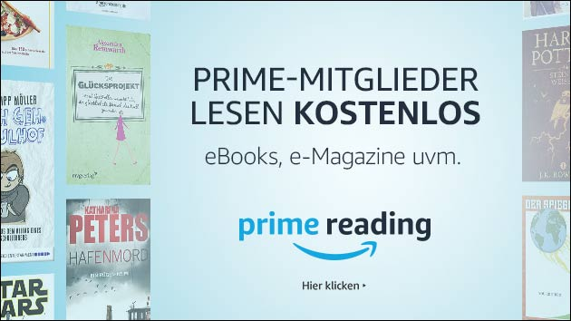 ebooks und Zeitschriften kostenlos: Amazon Prime Reading