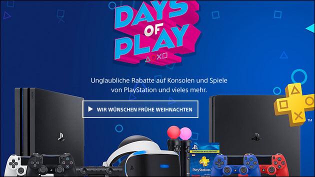 PlayStation 4 für 219 Euro + 2 Controllern