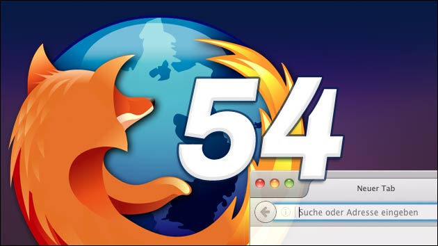 Firefox 54: Schnelleres Browsen auf Macs mit wenig RAM