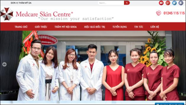 Medcare Skin Centre Umbrella