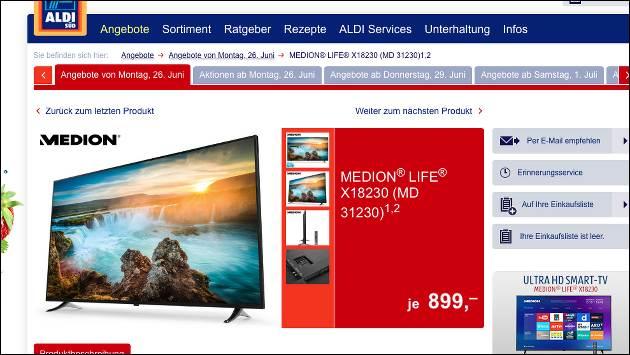 Medion X18230 Smart TV