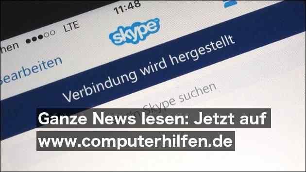 Europaweit Störungen bei Skype
