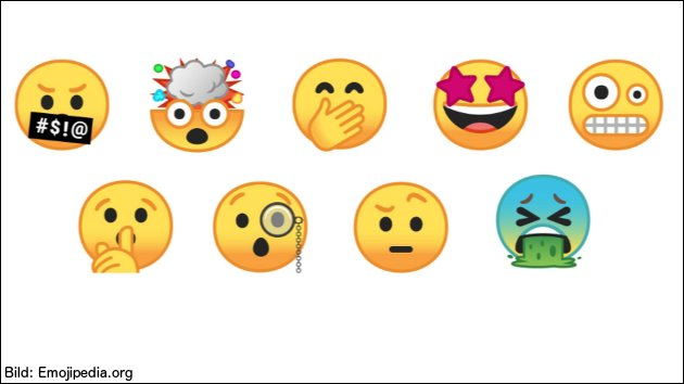 Unicode 10: 56 neue Emojis