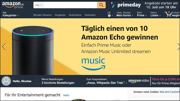 amazon prime video angebote echo eur gewinnspiel. Black Bedroom Furniture Sets. Home Design Ideas