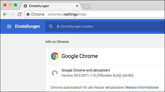Google Chrome: Version 60 jetzt mit Touch Bar-Support