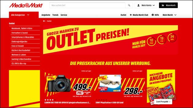 Mediamarkt Outlet