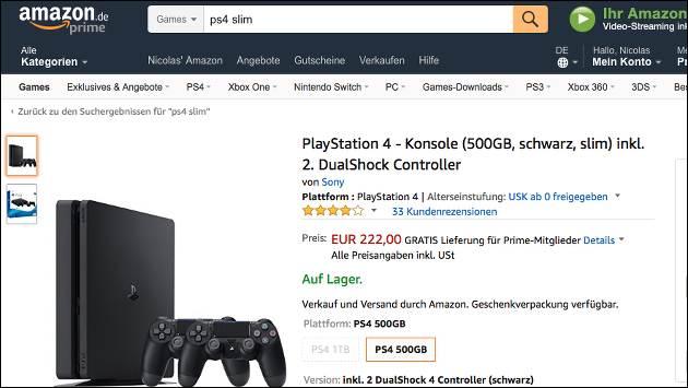 PS4 Angebot