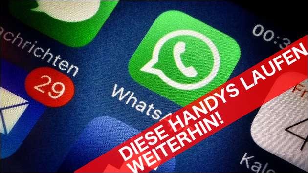 WhatsApp Support: Auf diesen Handys läuft er weiterhin!